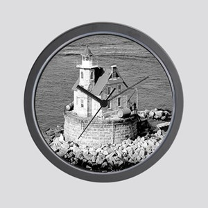 Race Rock Lighthouse Wall Clock