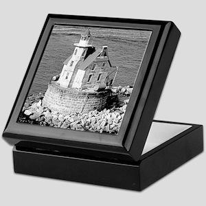 Race Rock Lighthouse Keepsake Box