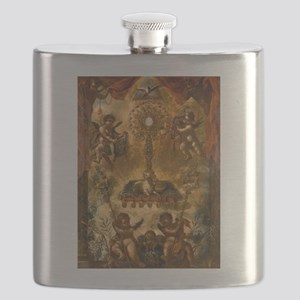 Allegory of the Eucharist Flask