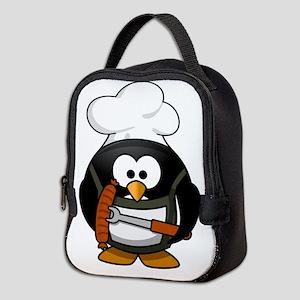 Penguin Grill Neoprene Lunch Bag