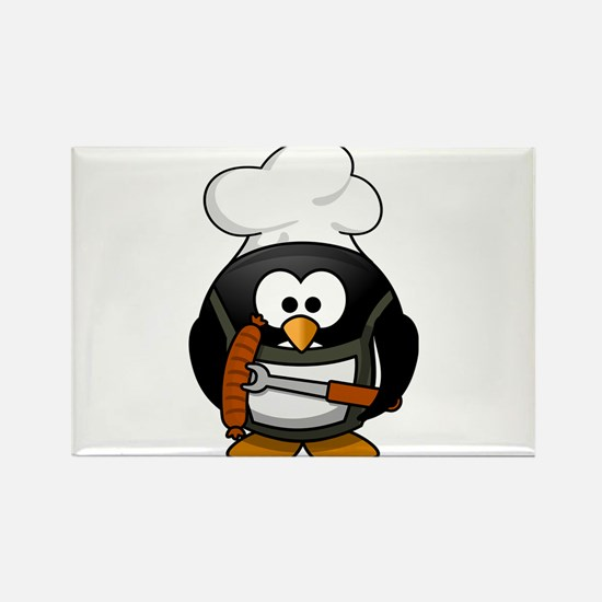Penguin Grill Magnets