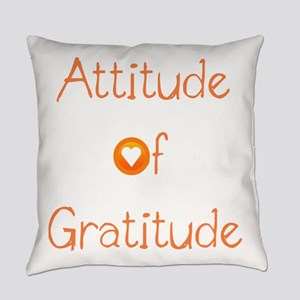 Attitude of Gratitude Everyday Pillow