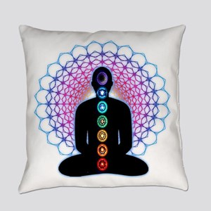 Chakras Everyday Pillow