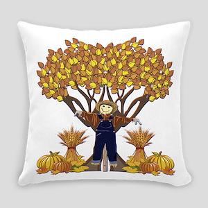Autumn Scarecrow Everyday Pillow