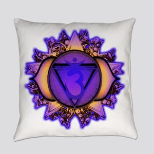 Ajna Chakra Everyday Pillow