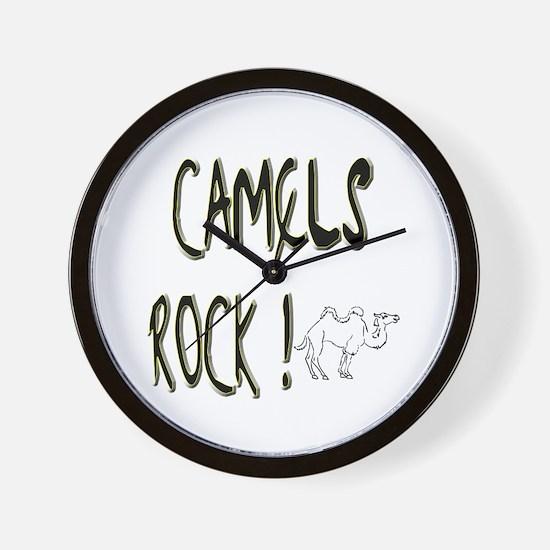 Camels Rock ! Wall Clock