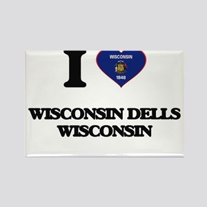 I love Wisconsin Dells Wisconsin Magnets