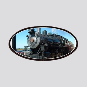 Steam train rolling along Patch