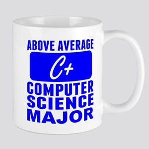 Above Average Computer Science Major Mugs
