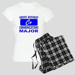 Above Average Communications Major Pajamas