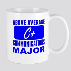 Above Average Communications Major Mugs