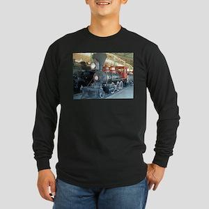 Antique train unique design Long Sleeve T-Shirt