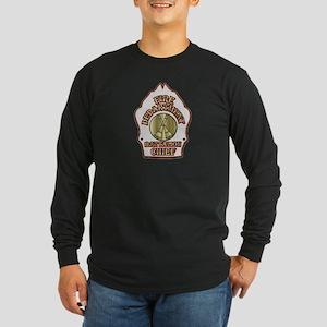 battalion chief FD badge white Long Sleeve T-Shirt