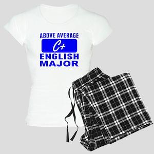 Above Average English Major Pajamas
