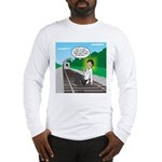 Train Toilet Long Sleeve T-Shirt