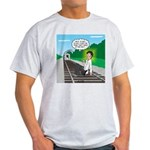 Train Toilet Light T-Shirt