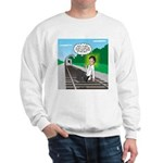 Train Toilet Sweatshirt