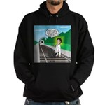 Train Toilet Hoodie (dark)