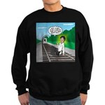 Train Toilet Sweatshirt (dark)