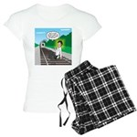 Train Toilet Women's Light Pajamas