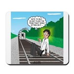 Train Toilet Mousepad