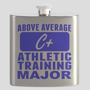 Above Average Athletic Training Major Flask