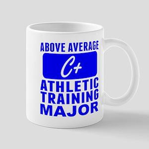 Above Average Athletic Training Major Mugs
