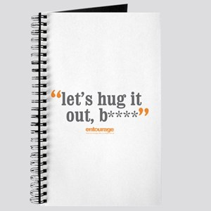 Entourage Hug It Out Journal