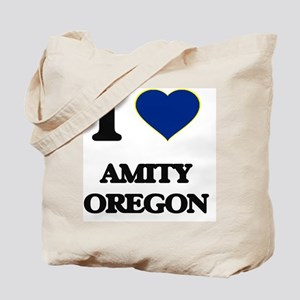 I love Amity Oregon Tote Bag