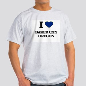 I love Baker City Oregon T-Shirt