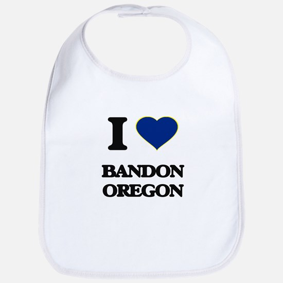 I love Bandon Oregon Bib