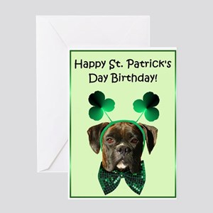 st. patricks day birthday Greeting Cards