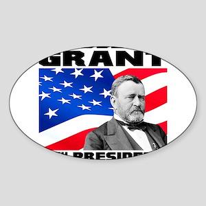18 Grant Sticker (Oval)