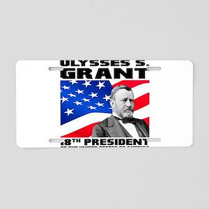 18 Grant Aluminum License Plate