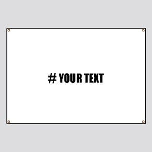 Hashtag Personalize It! Banner