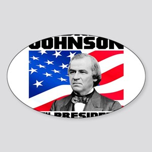 17 Johnson Sticker (Oval)