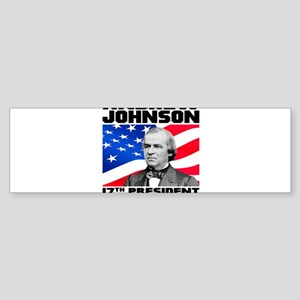 17 Johnson Sticker (Bumper)