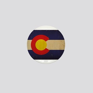 Colorado State Flag VINTAGE Mini Button