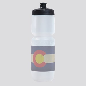 Colorado State Flag VINTAGE Sports Bottle