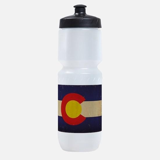 Colorado State Flag VINTAGE Sports Bottle