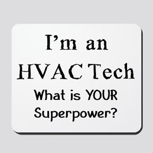 hvac tech Mousepad