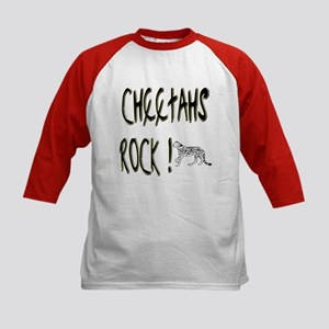 Cheetahs Rock ! Kids Baseball Jersey
