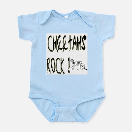 Cheetahs Rock ! Infant Bodysuit