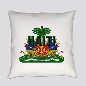 Haitian Coat of Arms Everyday Pillow