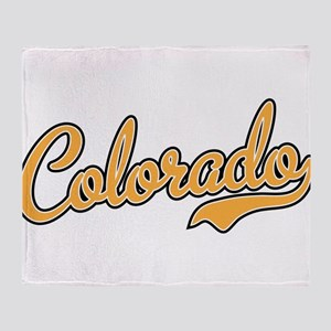 Colorado Throw Blanket