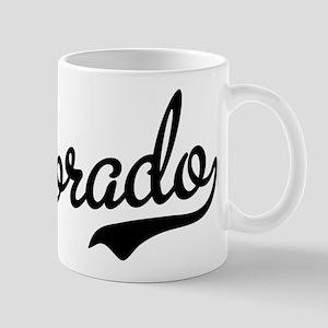 Colorado Script Black Mug