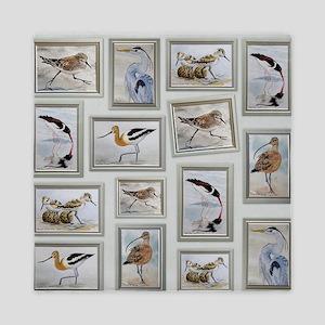 Shorebirds_large Queen Duvet