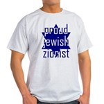 proud jewish zionist Light T-Shirt