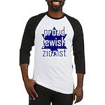 proud jewish zionist Baseball Jersey