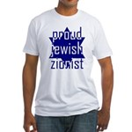 proud jewish zionist Fitted T-Shirt